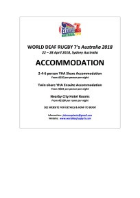 WDR7's ACCOMMODATION Newflash