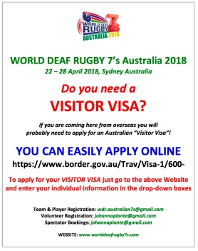 WDR 7's VISITOR VISA NEWSFLASH